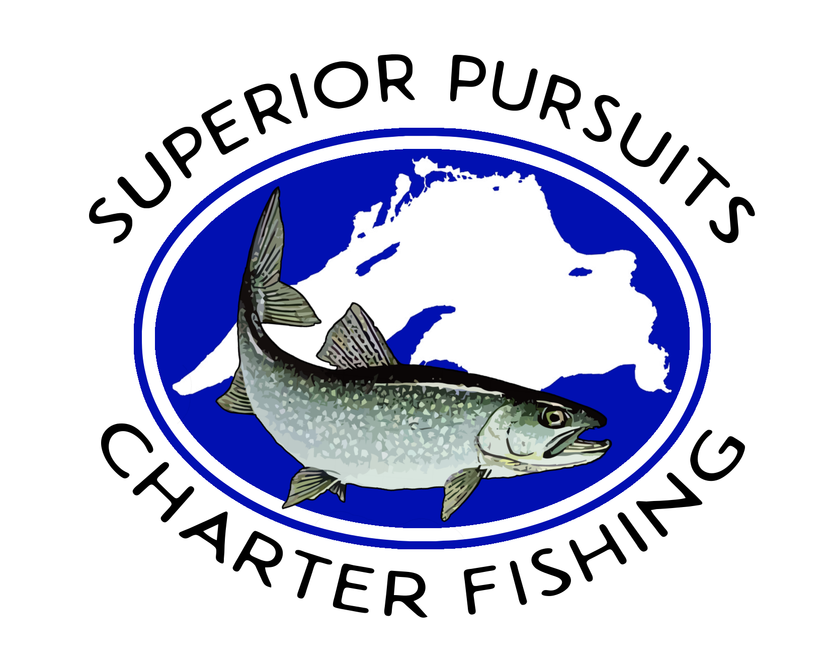 Lake superior charter fishing lake trout salmon and for Charter fishing duluth mn